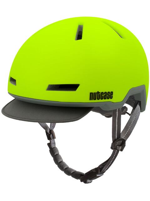 Nutcase Tracer Helmet Spark Yellow Matte